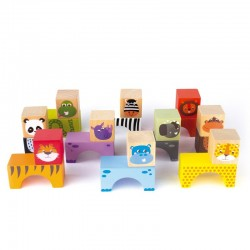 Animal Blocks - APL-15186 - APLI - Wooden blocks and boards - Le Nuage de Charlotte