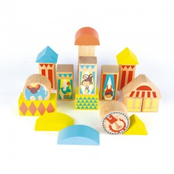Circus Blocks - APL-15268 - APLI - Wooden blocks and boards - Le Nuage de Charlotte