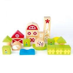 Farm Blocks - APL015269 - APLI - Wooden blocks and boards - Le Nuage de Charlotte