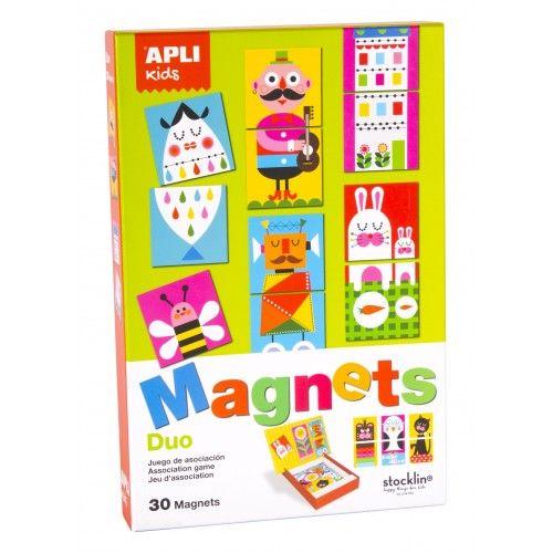 Magnets - Duo - APL014560 - APLI - Education et Magnets - Le Nuage de Charlotte