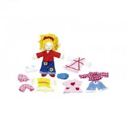 Dress-up doll Karry