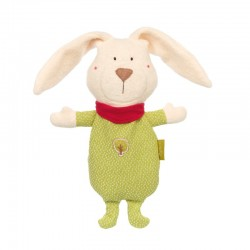 Cherry Pit Cushion Rabbit Green