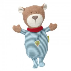 Cherry Pit Cushion Bear Green - SIG-41788 - sigikid - In the Bedroom - Le Nuage de Charlotte