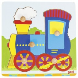 Lift-out puzzle locomotive - GOK-8657551 - goki - Wooden Puzzles - Le Nuage de Charlotte