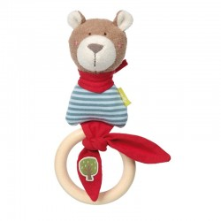 Rattle Ring Bear Green