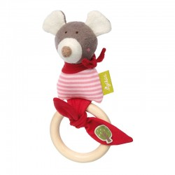 Rattle Ring Mouse Green