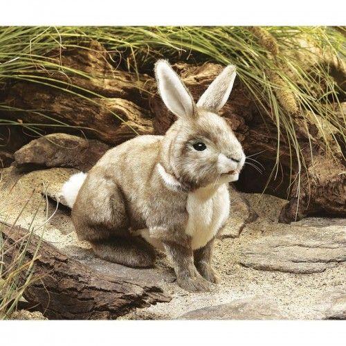Cottontail Rabbit - FLK2891 - Folkmanis - Hand Puppets - Le Nuage de Charlotte