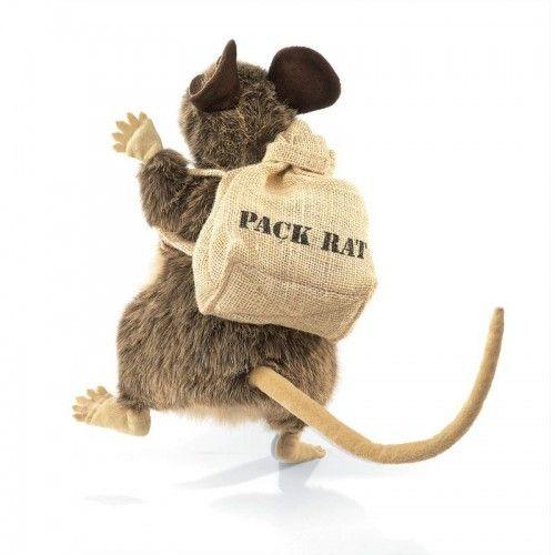 Pack Rat - FLK2847 - Folkmanis - Hand Puppets - Le Nuage de Charlotte