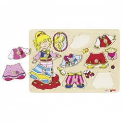 Puzzle, dress-up princess - GOK-8657814 - Goki - Wooden Puzzles - Le Nuage de Charlotte