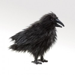 Raven - FLK2430 - Folkmanis - Hand Puppets - Le Nuage de Charlotte