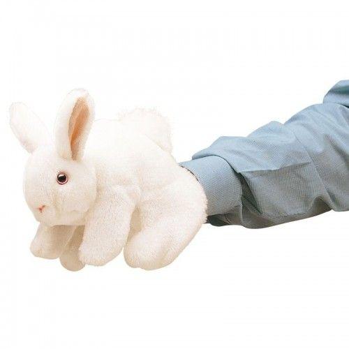 Rabbit - FLK2048 - Folkmanis - Hand Puppets - Le Nuage de Charlotte