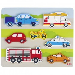 Puzzle, on the road - GOK-8657517 - goki - Wooden Puzzles - Le Nuage de Charlotte