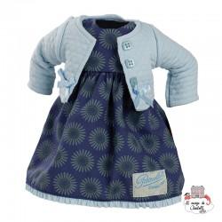 """Dressing """"Alba"""" for Minouche 34 cm - PCO-P503408 - Petitcollin - Doll's Accessories - Le Nuage de Charlotte"""