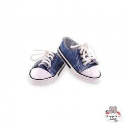 Sport Shoes MARINE - PCO-P603630 - Petitcollin - Doll's Accessories - Le Nuage de Charlotte