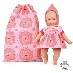 """Ecolo Doll """"Petite rosace"""" 25 cm"""