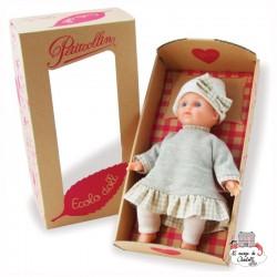 """Ecolo Doll """"Léa"""" 25 cm - PCO-P632557 - Petitcollin - Poupées - Le Nuage de Charlotte"""