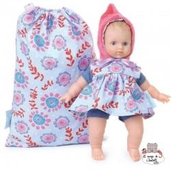 """Ecolo Doll """"Petite fleur"""" 25 cm"""