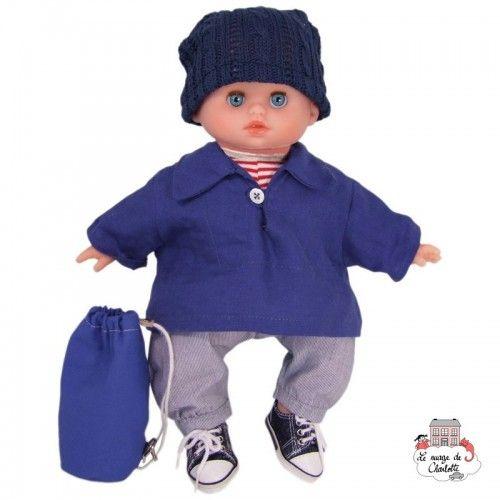 """Petit Câlin Doll """"Finistère"""" 28 cm - PCO-P642822 - Petitcollin - Poupées - Le Nuage de Charlotte"""