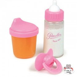 Magic Cup & Bottle - PCO-P800171 - Petitcollin - Doll's Accessories - Le Nuage de Charlotte