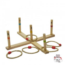 Ring Toss Game - OUT-0713045 - Outdoor Play - Outdoor Play - Le Nuage de Charlotte