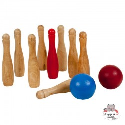 Garden Bowling Game - OUT-0713054 - Outdoor Play - Outdoor Play - Le Nuage de Charlotte