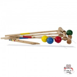 Croquet Game - OUT-0713053 - Outdoor Play - Outdoor Play - Le Nuage de Charlotte