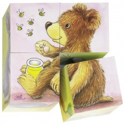 Baby animals, cube puzzle