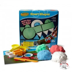 Bubber Smart Shapes - RPL-890140111 - Relevant Play - Sand and Playdough - Le Nuage de Charlotte