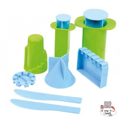 Castle Molds - RPL-890192101 - Relevant Play - Sand and Playdough - Le Nuage de Charlotte