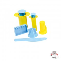 Mini Castle Molds - RPL-890192201 - Relevant Play - Sand and Playdough - Le Nuage de Charlotte