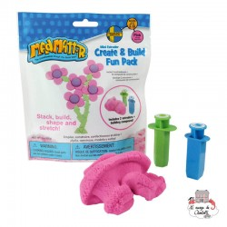 Mad Mattr Create & Build Fun Pack pink (57g) - RPL-890220101 - Relevant Play - Sand and Playdough - Le Nuage de Charlotte