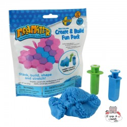 Mad Mattr Create & Build Fun Pack blue (57g) - RPL-890220103 - Relevant Play - Sand and Playdough - Le Nuage de Charlotte