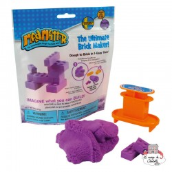 Mad Mattr Brick Maker purple (57g) - RPL-890220202 - Relevant Play - Sand and Playdough - Le Nuage de Charlotte