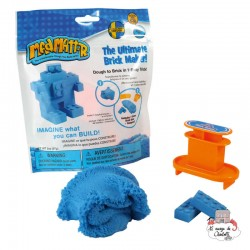 Mad Mattr Brick Maker blue (57g) - RPL-890220203 - Relevant Play - Sand and Playdough - Le Nuage de Charlotte