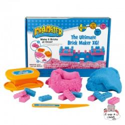 Mad Mattr The Ultimate Brick Maker X6! - RPL-890220204 - Relevant Play - Sable et pâtes à modeler - Le Nuage de Charlotte