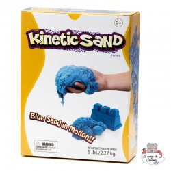 Kinetic Sand - blue (2,27 kg) - RPL-890150603 - Relevant Play - Sand and Playdough - Le Nuage de Charlotte