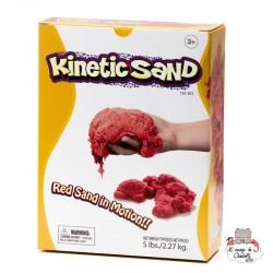 Kinetic Sand - red (2,27 kg) - RPL-890150303 - Relevant Play - Sand and Playdough - Le Nuage de Charlotte