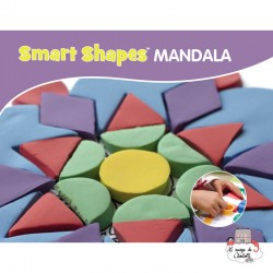 Smart Shapes MANDALA - RPL-890194112 - Relevant Play - Sand and Playdough - Le Nuage de Charlotte