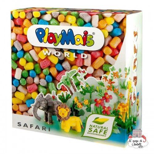 PlayMais WORLD Safari - PLM-160020 - PlayMais - Stickers - Le Nuage de Charlotte