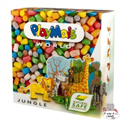 PlayMais WORLD Jungle - PLM-160021 - PlayMais - Stickers - Le Nuage de Charlotte
