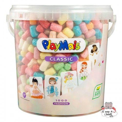 PlayMais CLASSIC 1000 Fashion - PLM-160487 - PlayMais - Stickers - Le Nuage de Charlotte