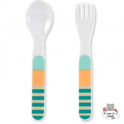 Spoon / Fork - Leo the Lion - STE-6811623 - Sterntaler - Eat and Drinks - Le Nuage de Charlotte