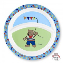 Plate - Ben the Pooh - STE-6821506 - Sterntaler - Eat and Drinks - Le Nuage de Charlotte