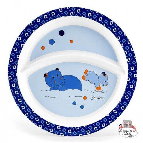 Assiette - Norbert l'Hippopotame