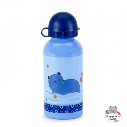 Water Bottle - Norbert the Hippopotamus - STE-6921620 - Sterntaler - Eat and Drinks - Le Nuage de Charlotte