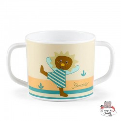 Cup with Handles - Leo the Lion - STE-6841623 - Sterntaler - Eat and Drinks - Le Nuage de Charlotte
