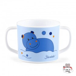 Cup with Handles - Norbert the Hippopotamus - STE-6841620 - Sterntaler - Eat and Drinks - Le Nuage de Charlotte