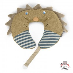 Neck Roll with Soother Chain - Leo the Lion - STE-6511623 - Sterntaler - Neck Pillow - Le Nuage de Charlotte