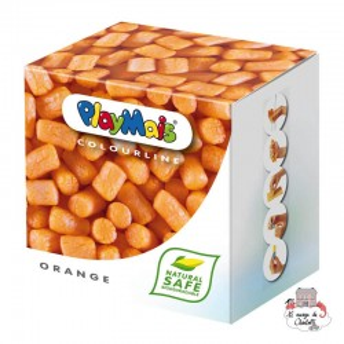 PlayMais BASIC Orange - PLM-160030 - PlayMais - Stickers - Le Nuage de Charlotte