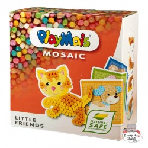 PlayMais MOSAIC Little Friends - PLM-160182 - PlayMais - Stickers - Le Nuage de Charlotte